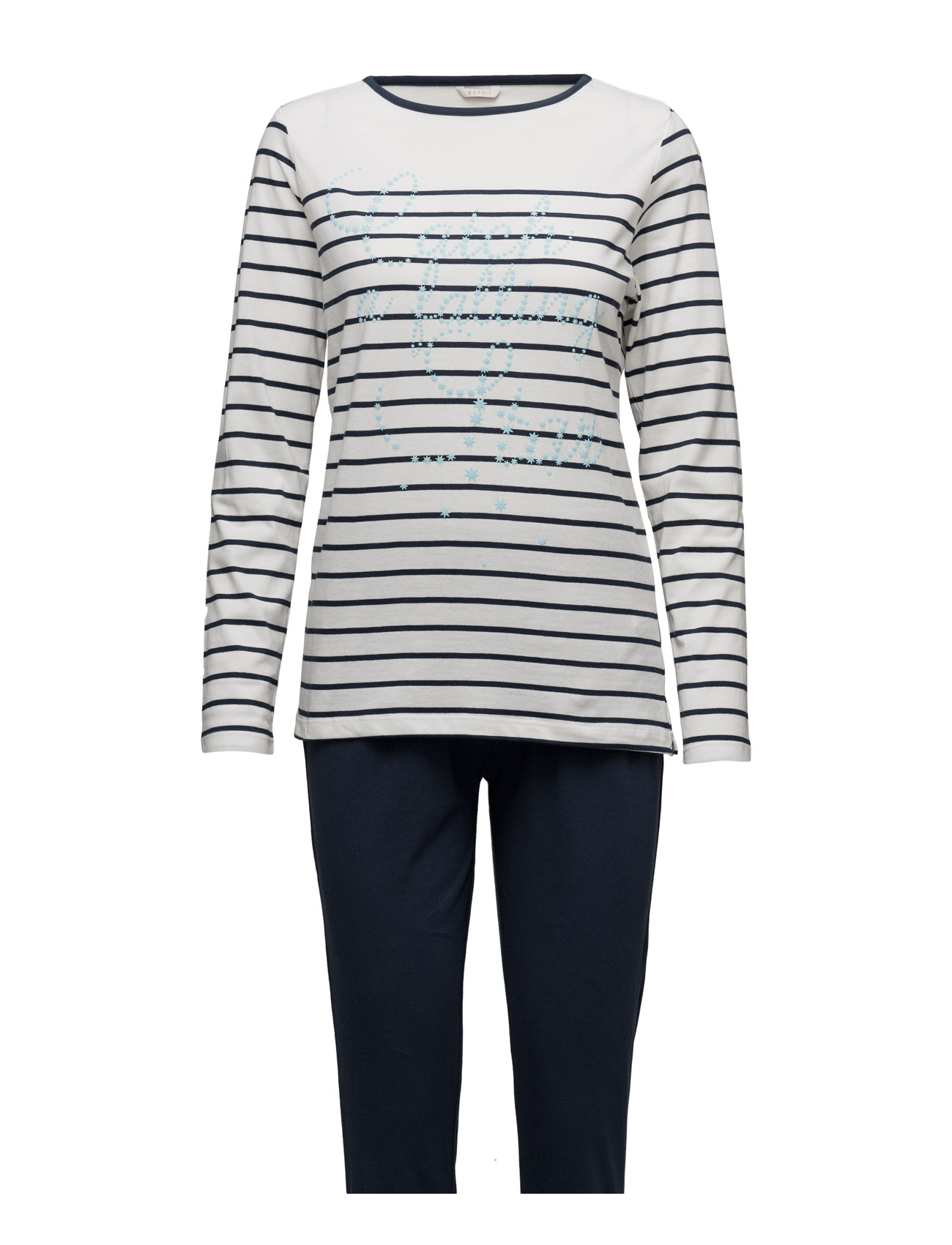 Pyjamas Esprit Bodywear Women Nattøj til Kvinder i Off White