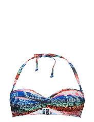 Beach Tops with wire - DARK BLUE