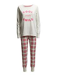 Pyjamas - CORAL RED