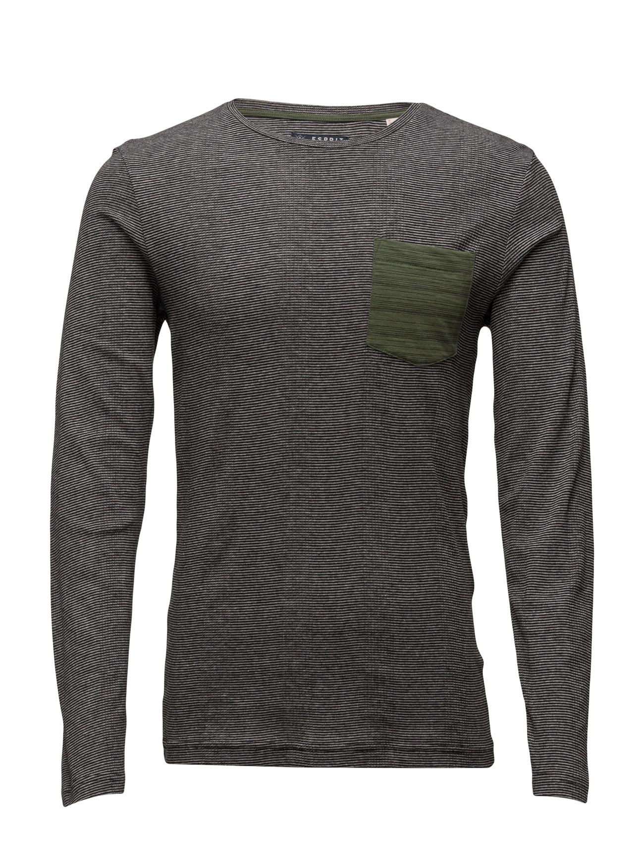 T-Shirts Esprit Casual Langærmede til Mænd i