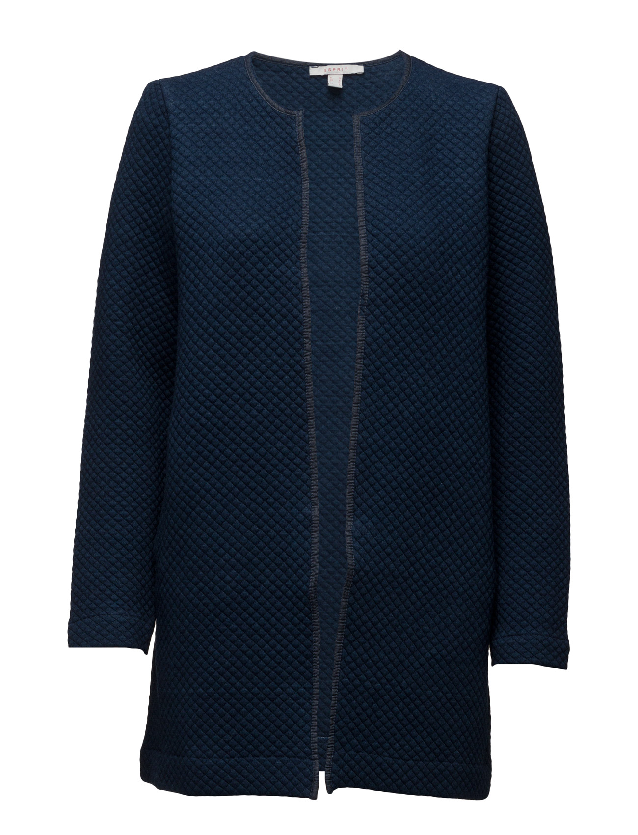 Sweatshirts Cardigan Esprit Casual Striktøj til Kvinder i Blæk