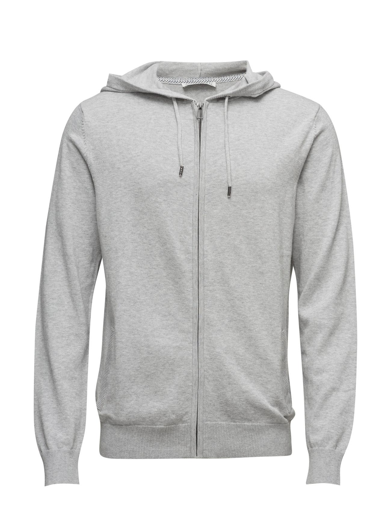 Sweaters Esprit Casual Hættetrøjer til Herrer i Lysegrå