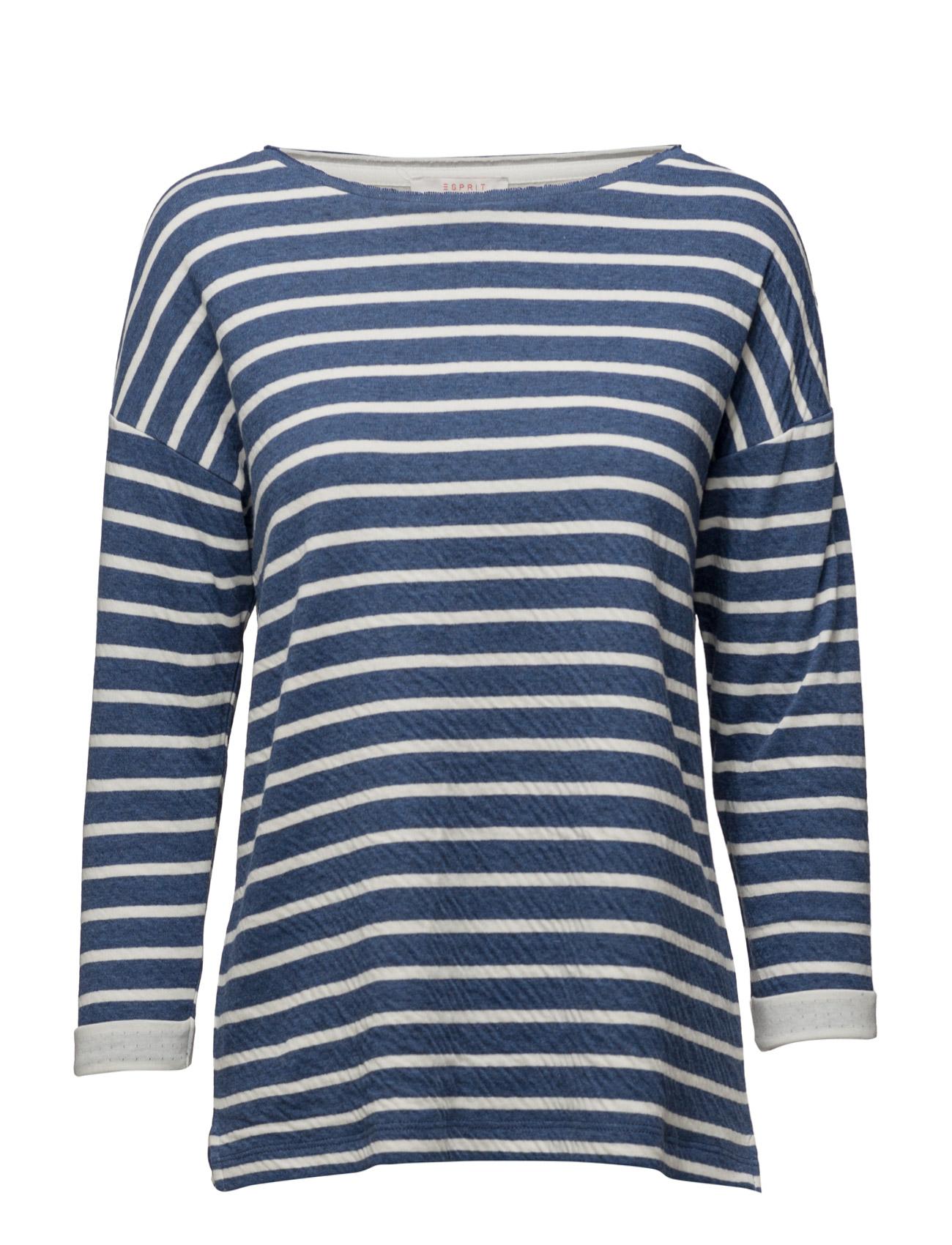 Sweatshirts Esprit Casual Striktrøjer til Kvinder i Navy blå