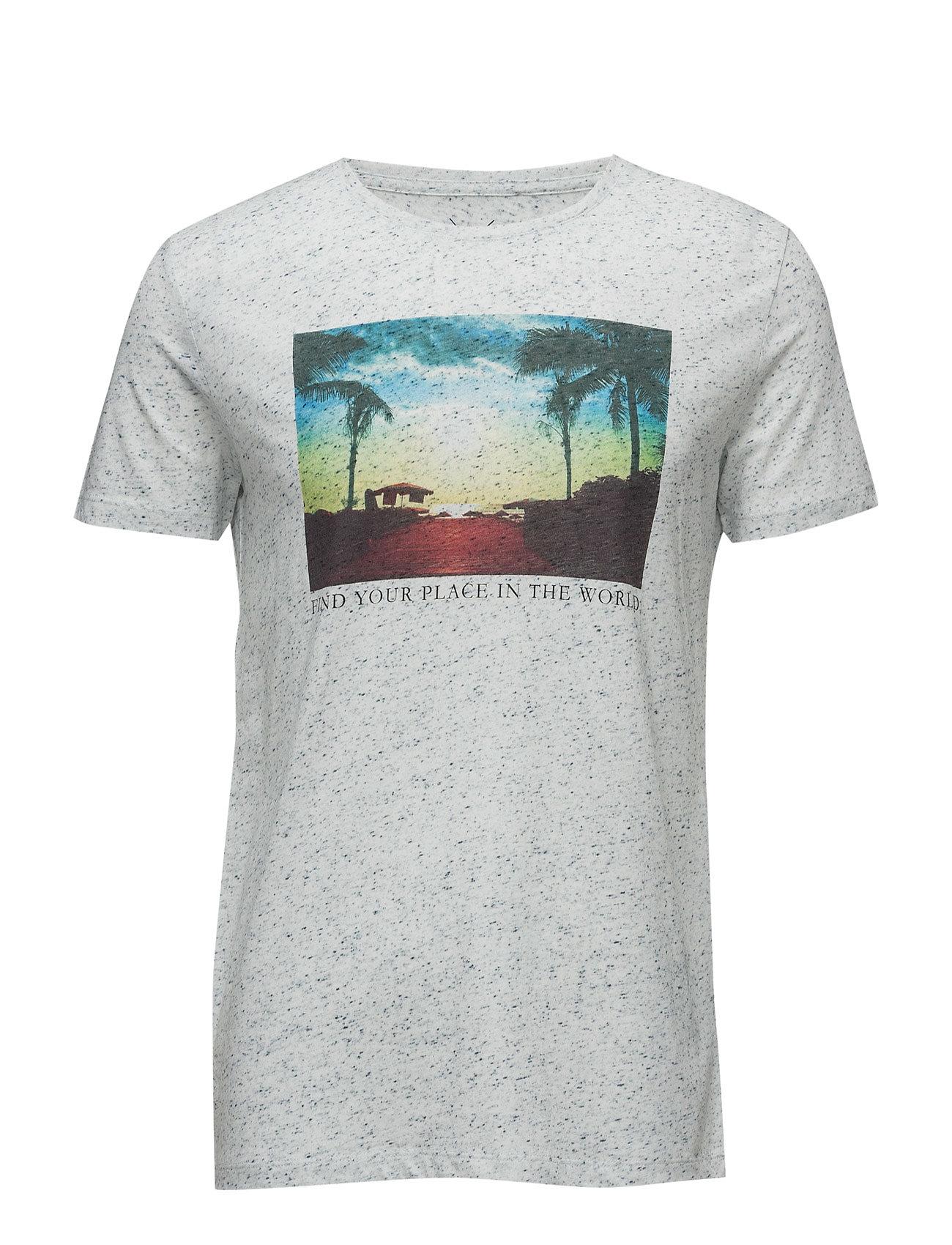 T-Shirts Esprit Casual T-shirts til Mænd i Navy blå