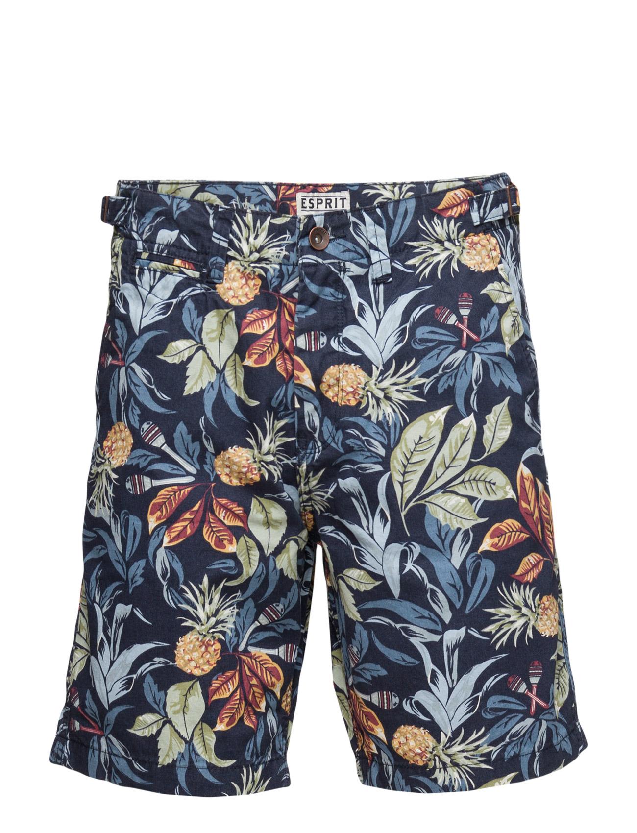 Shorts Woven Esprit Casual Bermuda shorts til Herrer i Navy blå