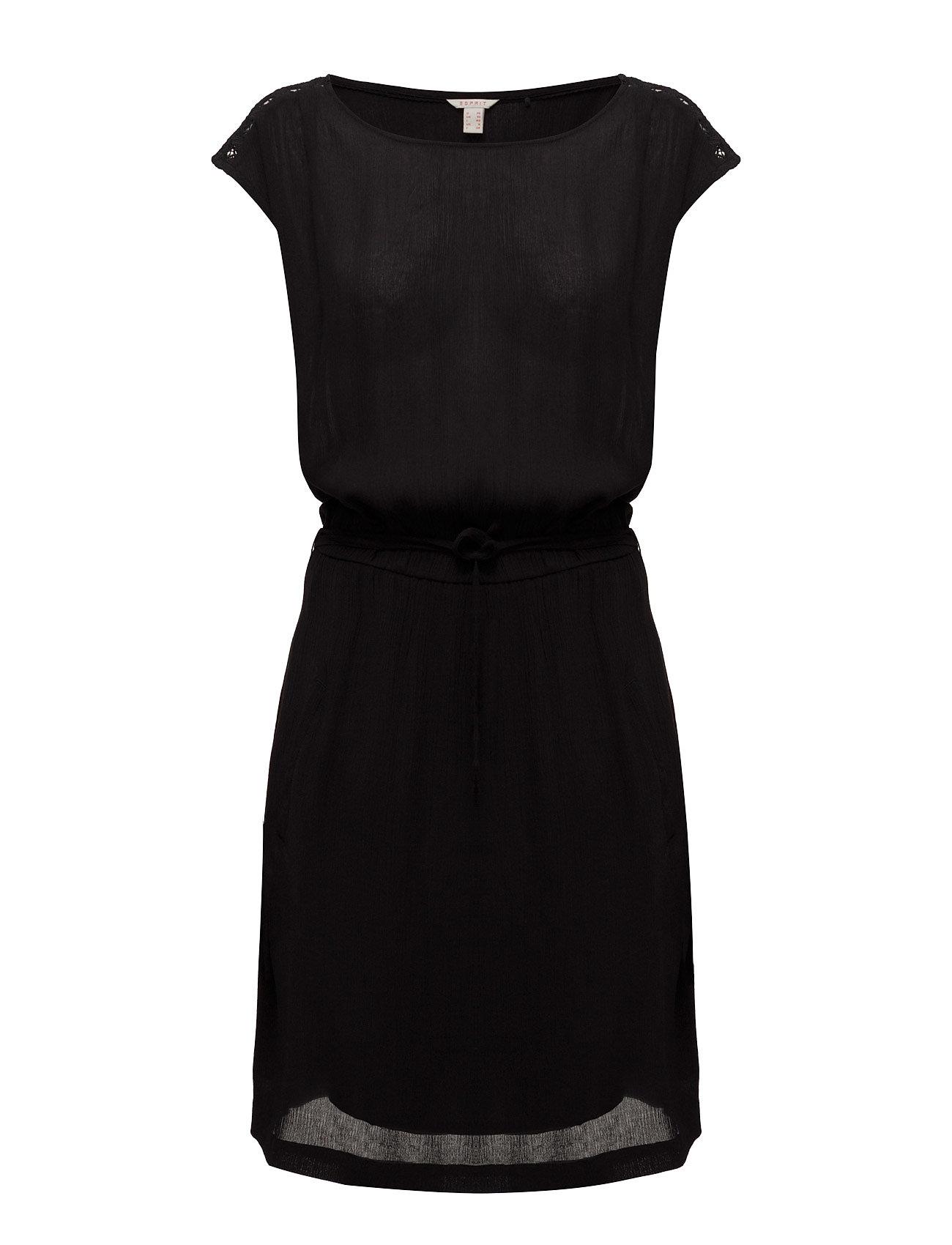 Dresses Light Woven Esprit Casual Kjoler til Kvinder i Sort