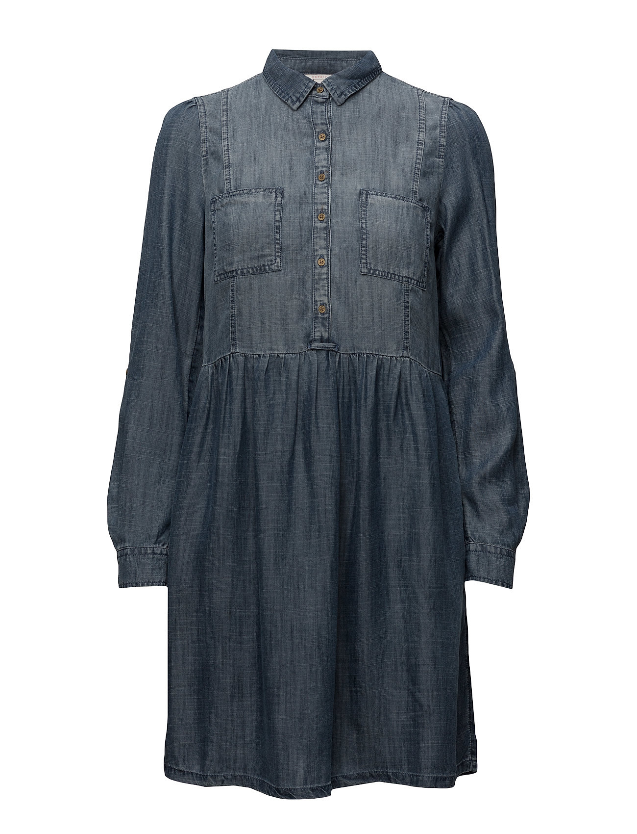 Dresses Light Woven Esprit Casual Knælange & mellemlange til Damer i Blå