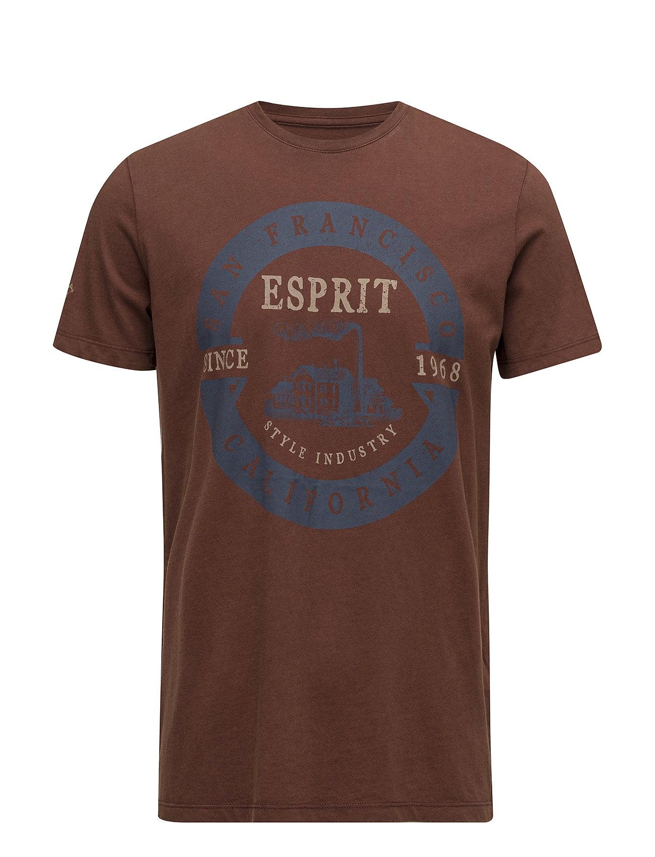 T-Shirts Esprit Casual Kortærmede til Herrer i