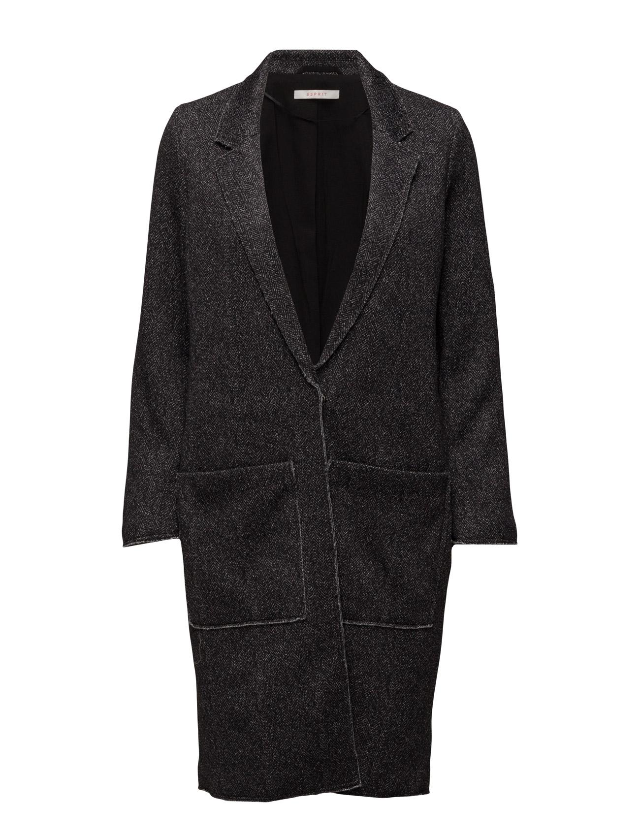 Jackets Indoor Woven Esprit Casual Frakker til Kvinder i Sort