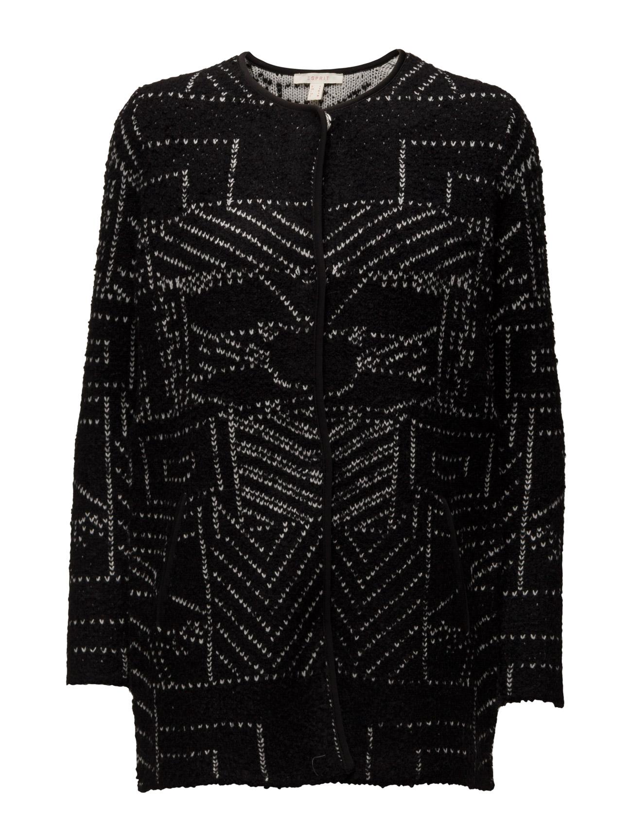 Sweaters Cardigan Esprit Casual Cardigans til Damer i Sort