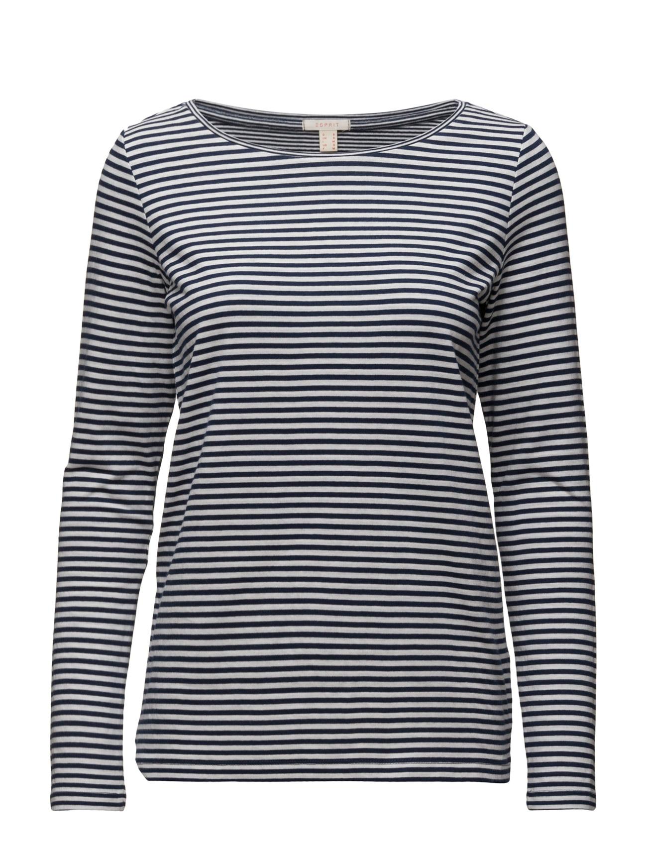 T-Shirts Esprit Casual Langærmede til Kvinder i