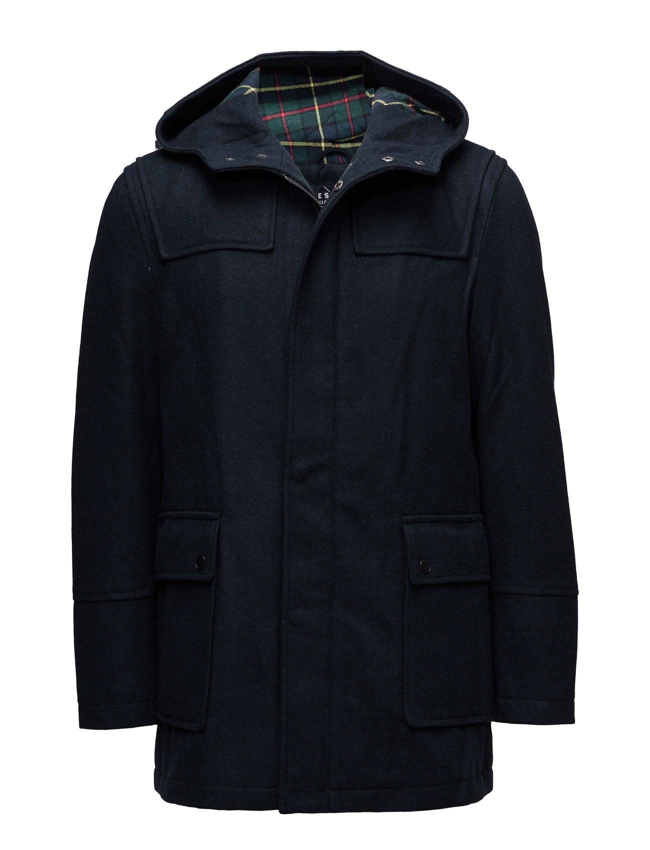 Coats Woven Esprit Casual Frakker til Mænd i Navy blå