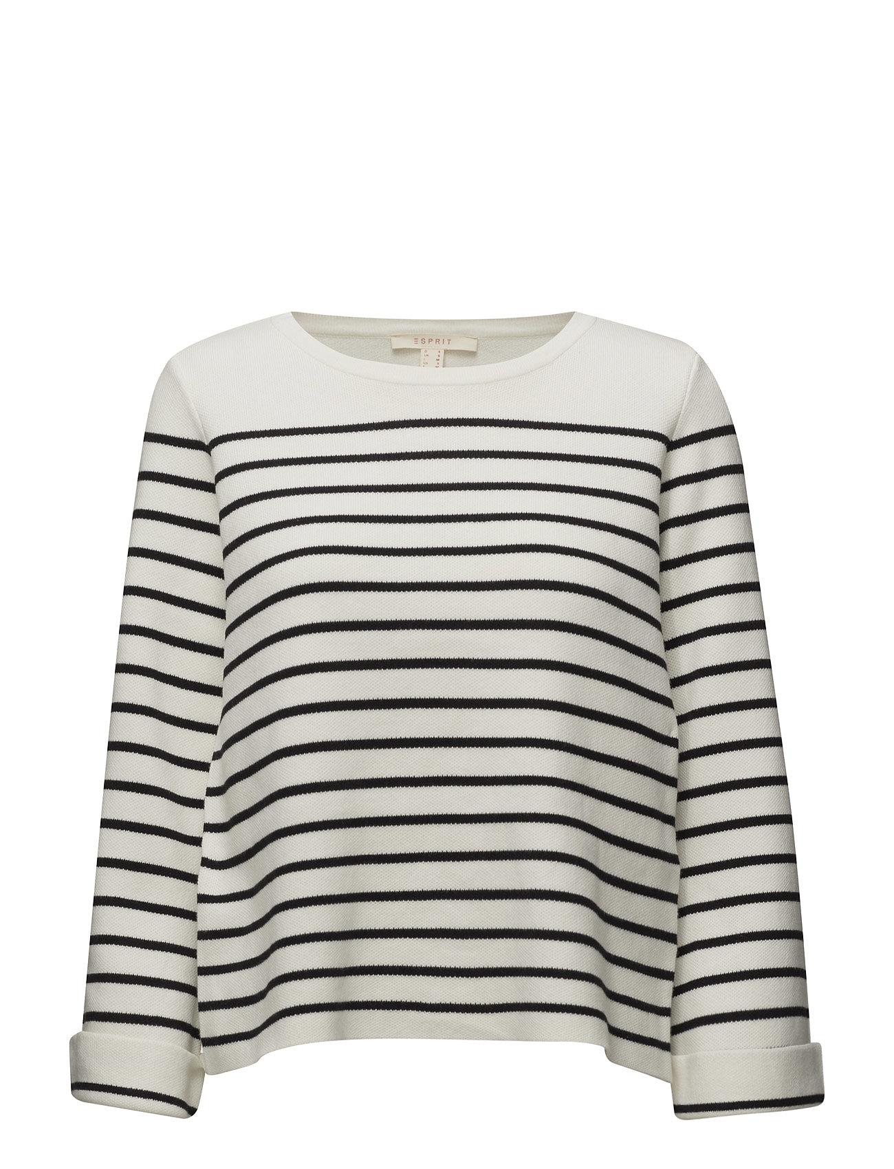 Sweaters Esprit Casual Sweatshirts til Damer i Off White