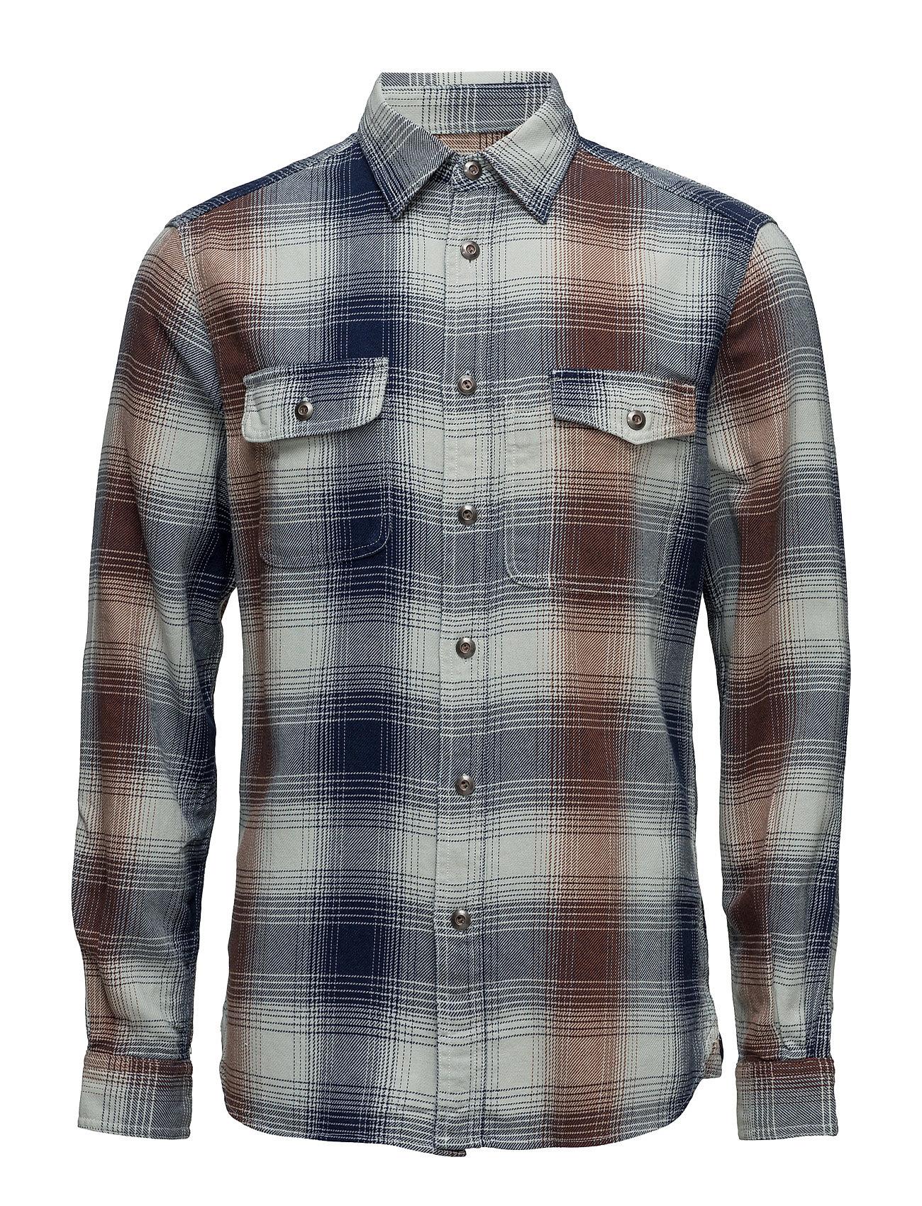 Shirts Woven Esprit Casual Casual sko til Herrer i Blæk