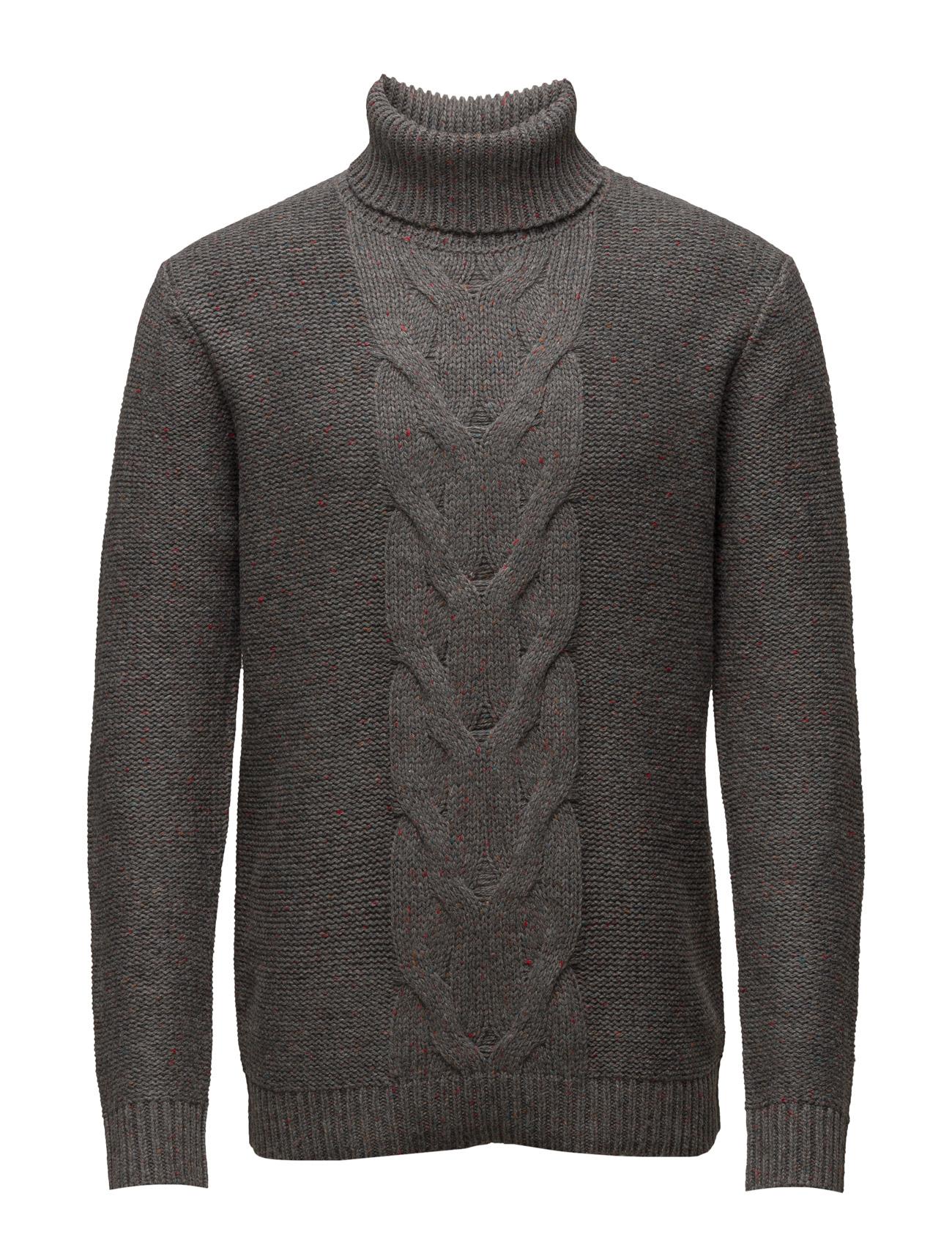 Sweaters Esprit Casual Striktøj til Mænd i Grå
