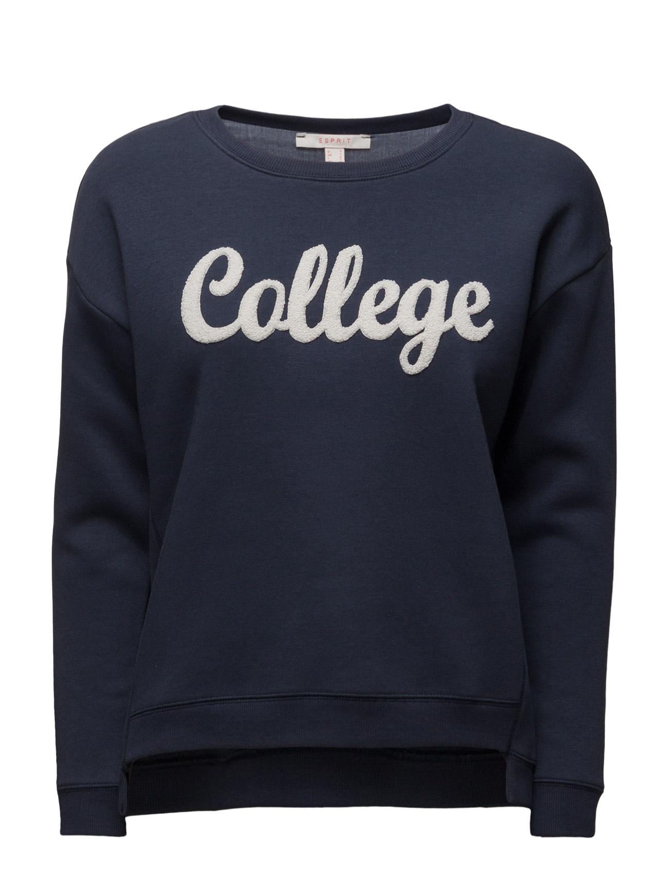Sweatshirts Esprit Casual  til Damer i Navy blå