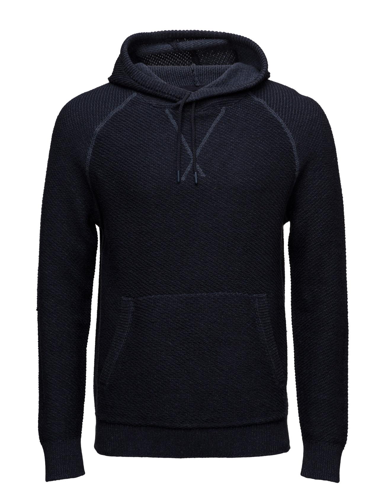 Sweaters Esprit Casual Hættetrøjer til Herrer i Navy blå