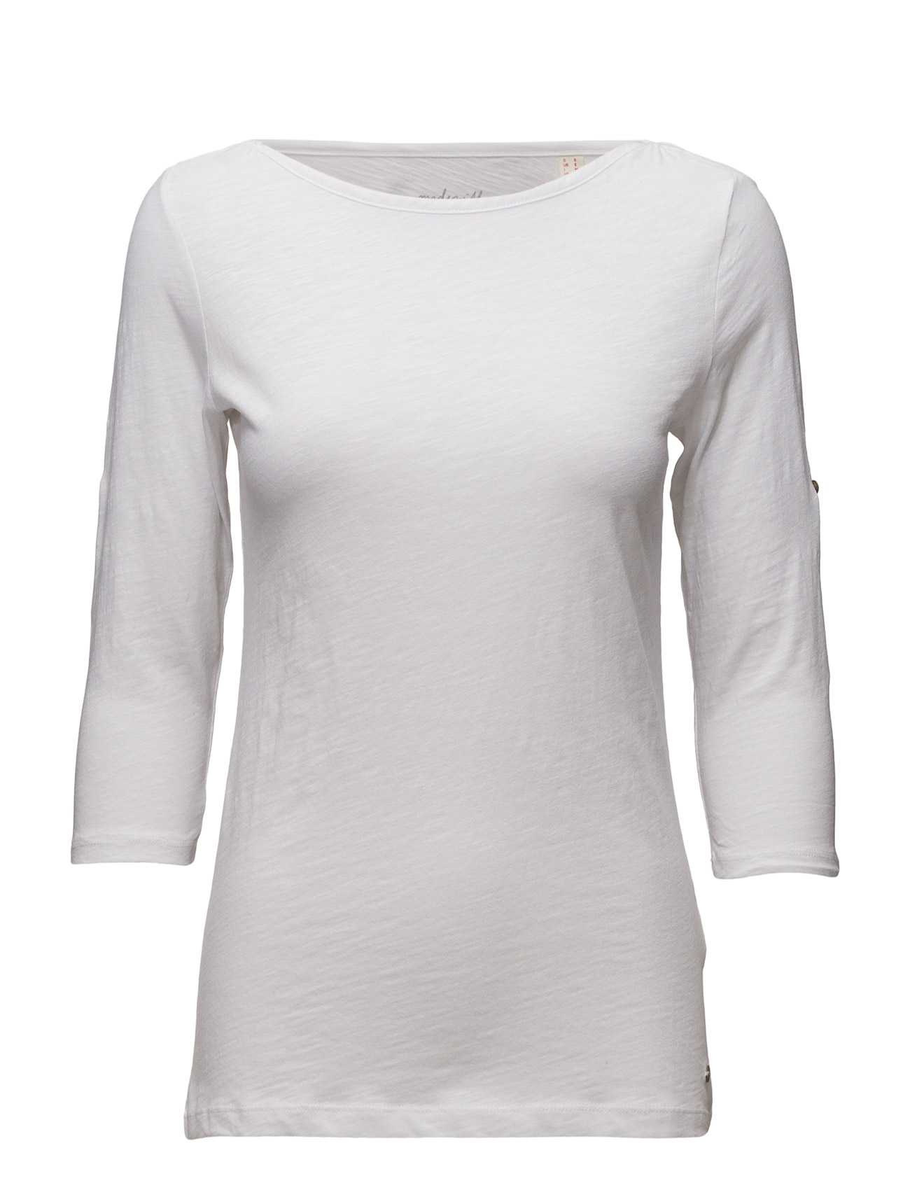 T-Shirts Esprit Casual Langærmede til Kvinder i Navy blå