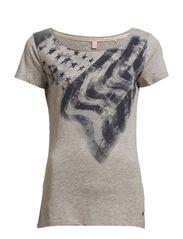 T-Shirts - METAL GREY MELANGE