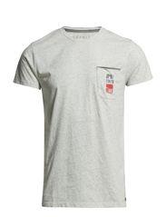 T-Shirts - WHITE MELANGE
