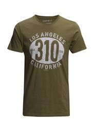 T-Shirts - TRAVELLER GREEN