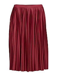 Skirts knitted - DARK RED