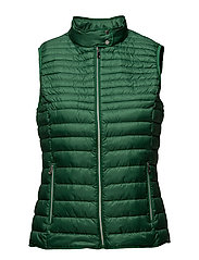 Vests outdoor woven - EMERALD GREEN