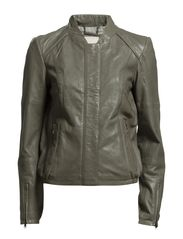 Jackets outdoor leather - SAFARI GREEN