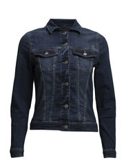 Jackets indoor denim - E DARK BLUE