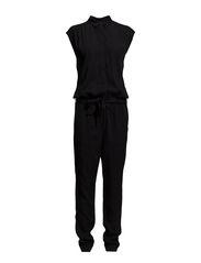 Overalls woven - BLACK