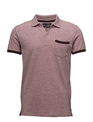 Polo shirts - BORDEAUX RED