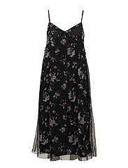 Dresses light woven - BLACK