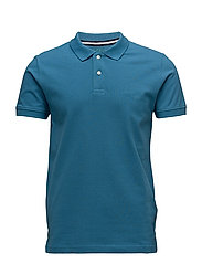 Polo shirts - PETROL BLUE