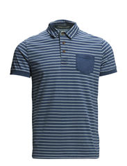 Polo shirts - E DARK BLUE