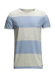 T-Shirts - SILENT BLUE MELANGE