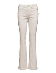 Pants denim - BEIGE