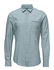 Shirts woven - LIGHT AQUA GREEN
