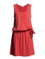 Dresses knitted - VERMILLION RED