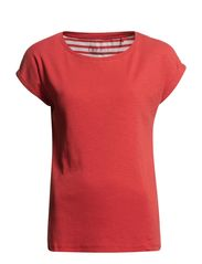 T-Shirts - VERMILLION RED