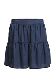 Skirts denim - E DARK BLUE