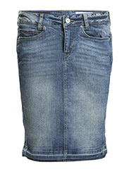 Skirts denim - E MEDIUM BLUE