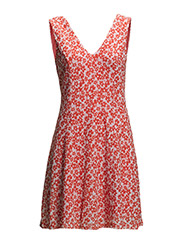 Dresses woven - MELON RED