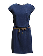 Dresses knitted - INKED BLUE