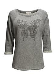 Sweatshirts - METAL GREY MELANGE