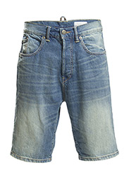 Shorts denim - E MEDIUM BLUE