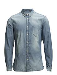 Shirts denim - E LIGHT BLUE