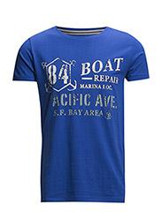 T-Shirts - BRILLIANT BLUE