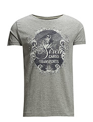 T-Shirts - LIGHT GREY MELANGE