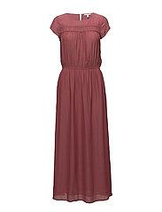 Dresses light woven - TERRACOTTA