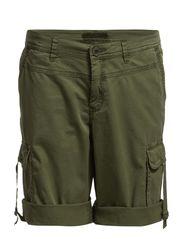 Shorts woven - MOSS GREEN